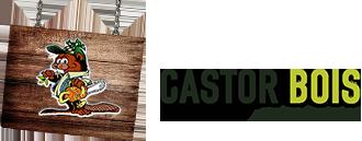 Harnist Castor Bois